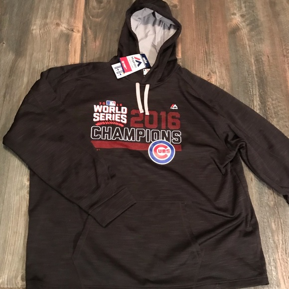 44738b421df Men s 2XL Chicago Cubs Championship Hoodie